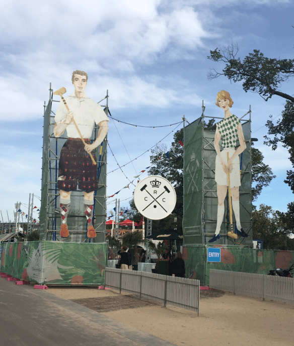 Royal Croquet Club Melbourne 2015 - Birrarung Marr