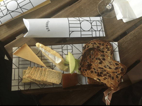 Arbory Bar & Eatery - Cheese plate