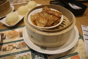 Tim Ho Wan - Pork & prawn in bean curd skin