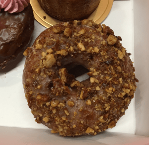 Flour market arfternoon delight pop-up - Maple walnut and brown butter doughnut