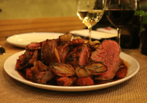 St Hotel - Wood roasted chateaubriand