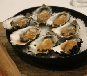 Vivace Restaurant - Oysters