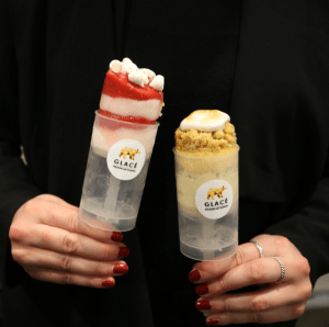 Glace - push pops