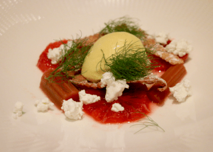 Lello - Fennel icecream & blood orange