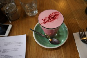 Prospect Espresso - Beetroot latte