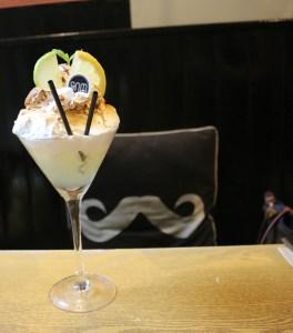 Sweetie and Moustache - Lemon meringue pie cocktail