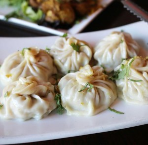 Punjab curry cafe - Chicken momos