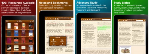 BibleReader 4 for iPad Screenshots