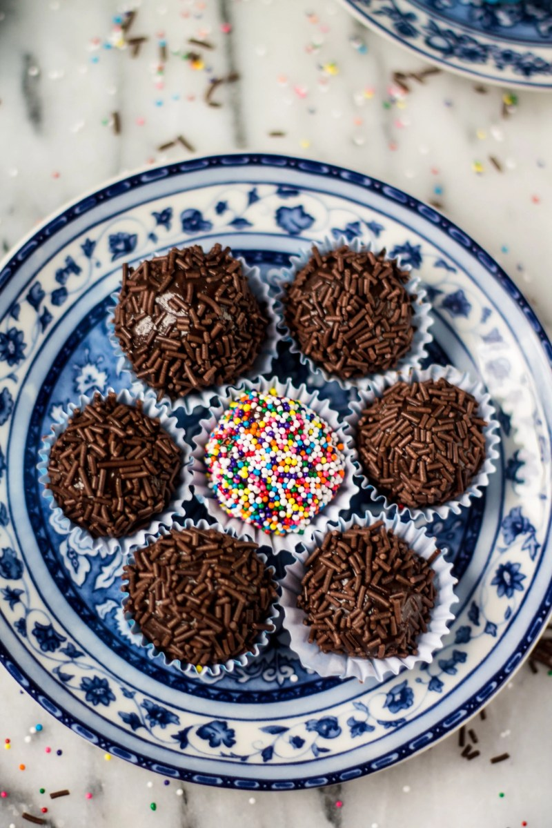 Traditional Brigadeiros (Brazilian Fudge Balls)