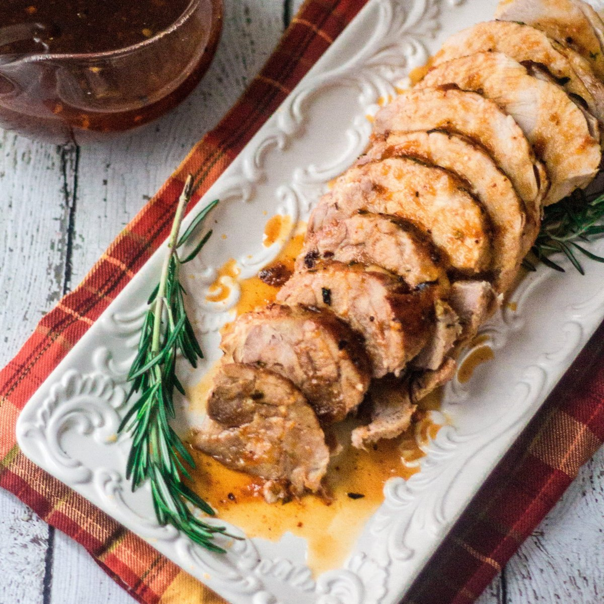 Turkey Breast with Apricot Sauce
