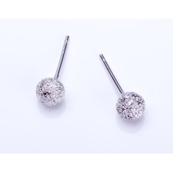 Pristine Silver Stud Tiny Silver Brushed Round Earrings Ball Stud Earrings Everyday Earrings Maia Silver Stud Earrings Pandora Silver Stud Earrings Ebay
