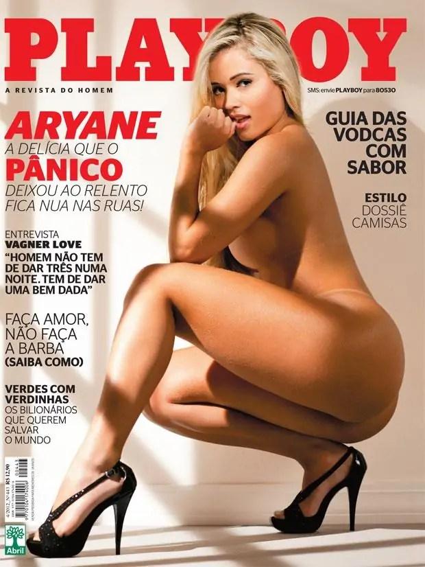 Playboy Aryane Steinkopf - A delícia do Pânico na TV