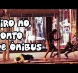 Pegadinha: Tiro no ponto de ônibus