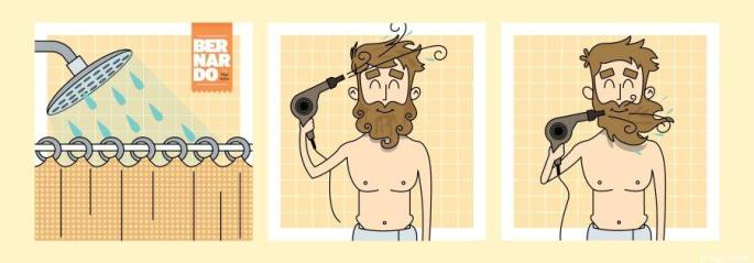 Coisas que só os homens de barba vão entender