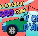Como lavar o carro COM 1 COPO DÁGUA