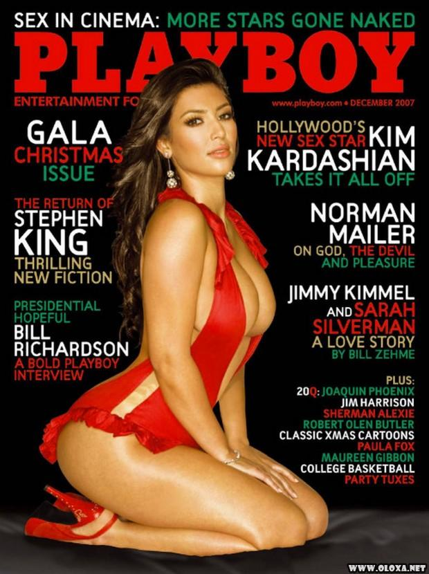Kim Kardashian nua na Playboy