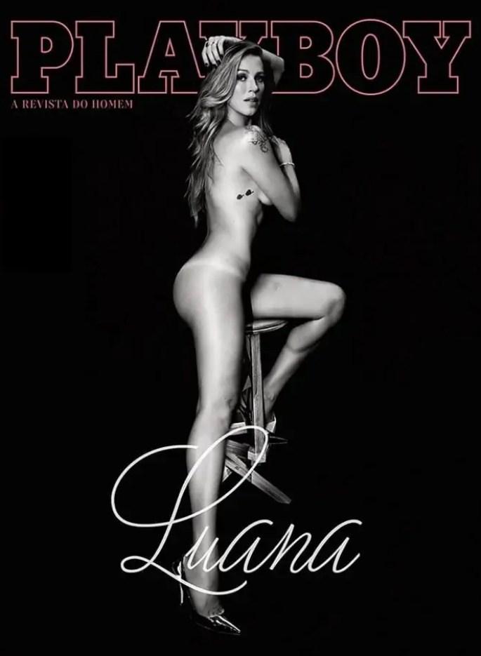 Playboy Luana Piovani