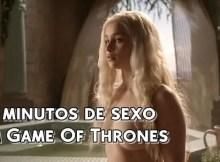 16 minutos de sexo em game of thrones