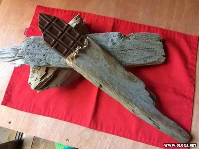 Esculturas de madeiras que parecem comida (4)