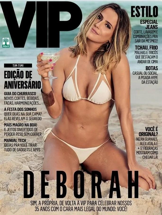 Deborah Secco nua na Vip