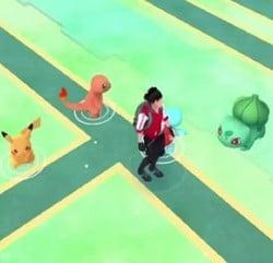 pikachu Squirtle Charmander Bulbassauro pokemon go