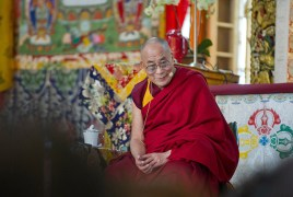 HH the Dalai Lama for Kalachakra