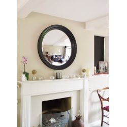Small Crop Of Large Round Mirror