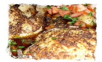 Portuguese pot chicken feature