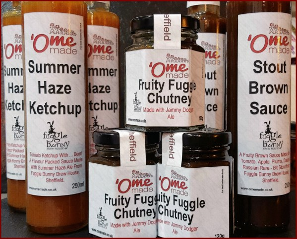Fuggle chutney and sauces 2