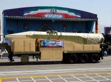 Iran launched missile