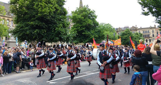 Greater Manchester Fire & Rescue Service Pipe Band