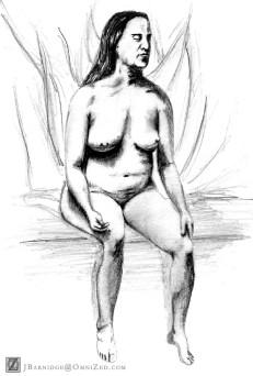 Sitting Nude 3