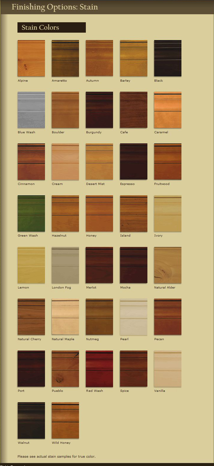finishingoptionsstain staining kitchen cabinets kitchen cabinets stain colors