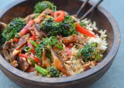 Small Of Stir Fry Broccoli