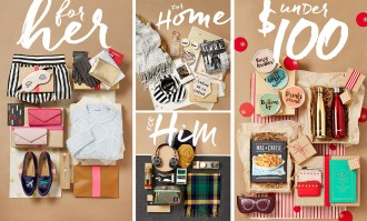 Shopbop offers a huge variety of gift for her, him, the house.. and for low budget! This is my experience!