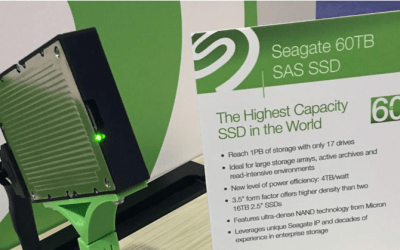 Seagate's World's Largest 60TB SSD Holds 400 Million Photos