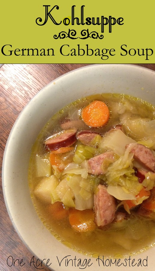 Slow Cooker German Cabbage Soup