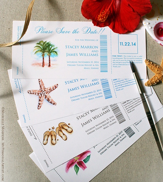 14 Fun and Creative Wedding Invitation and Save-the-Date ...