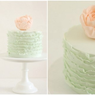 12 Pretty Pastel Colored Wedding Cakes