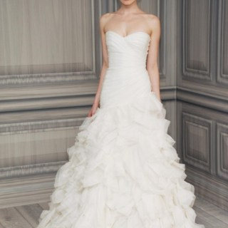 Monique Lhuillier Spring/Summer 2012 Bridal Collection