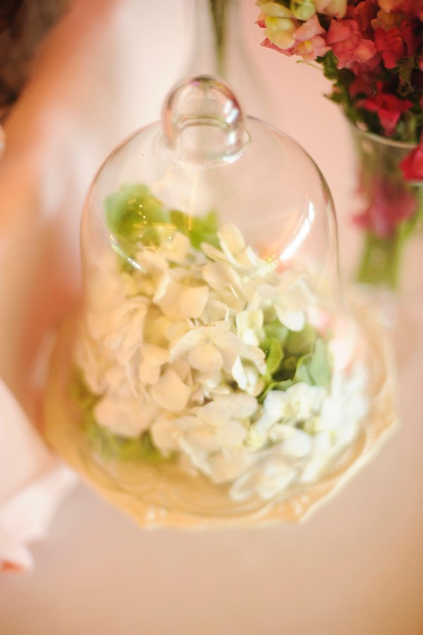 Bell Jar Centerpiece