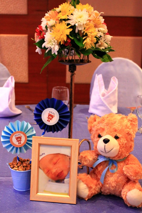 Blue and Brown Teddy Bear Themed Party - 08