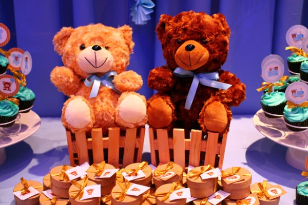 Blue and Brown Teddy Bear Themed Party - 12