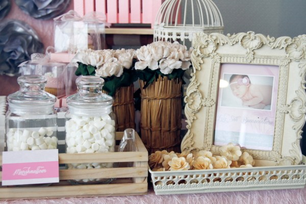 Lillies and Flowers Themed Christening - 31
