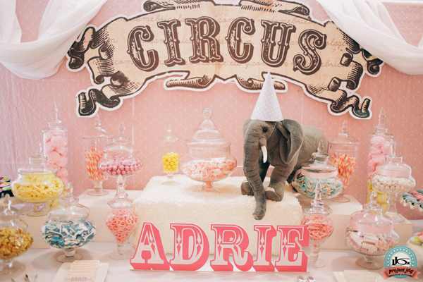 Amazing Adrie S Vintage Carnival Themed Birthday Party