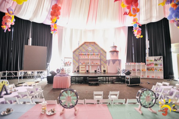 Candy Themed Birthday Party - 01