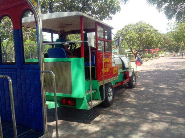 Mini Train in Luneta