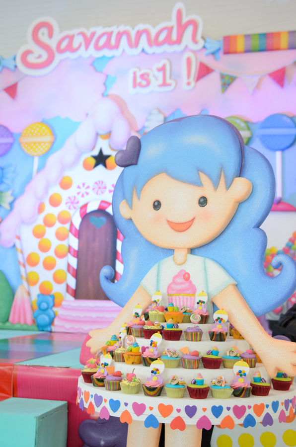 Colorful Candyland Birthday Party - 09