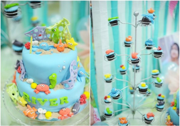 Underwater Birthday Party