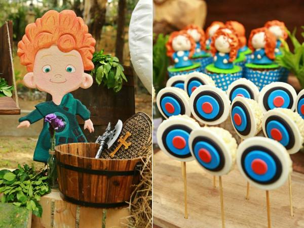 Brave Themed Birthday Party - 16